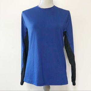 Lululemon reflective dry fit long sleeve top